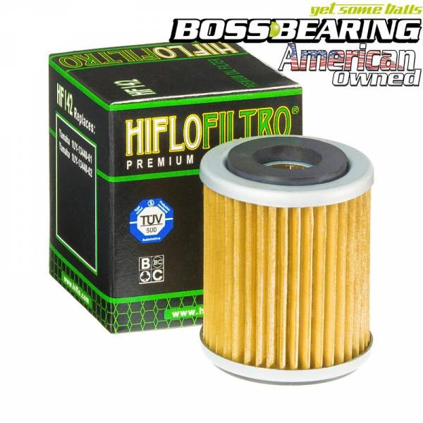 Boss Bearing - Boss Bearing Hiflo Oil Filter HF142 for Yamaha
