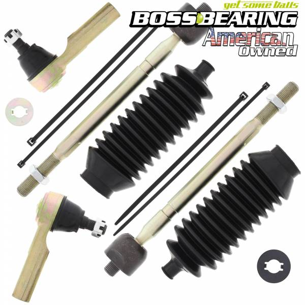 Boss Bearing - Right and Left Side Tie Rod End Combo Kit for Kawasaki