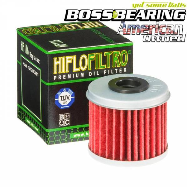 Boss Bearing - Boss Bearing Hiflo Oil Filter for Honda