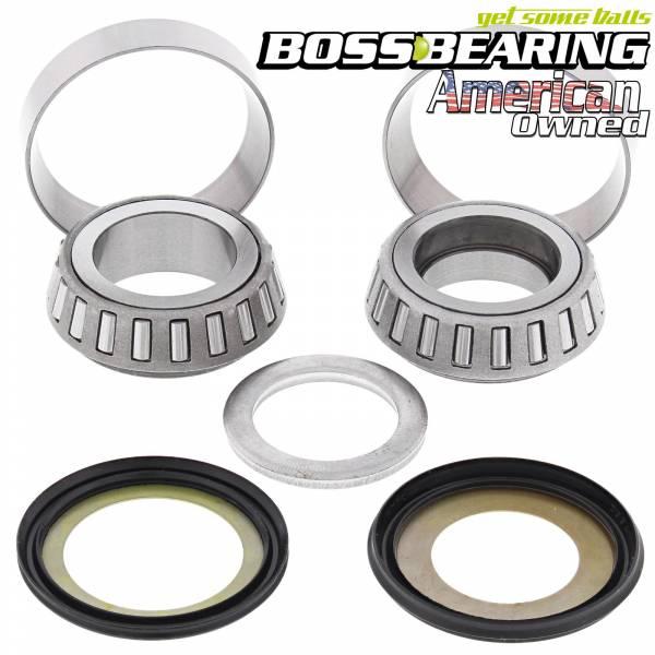 Boss Bearing - Boss Bearing Steering  Stem Bearings and Seals Kit for Honda