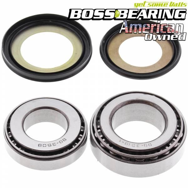 Boss Bearing - Boss Bearing Steering  Stem Bearings and Seals Kit for Suzuki