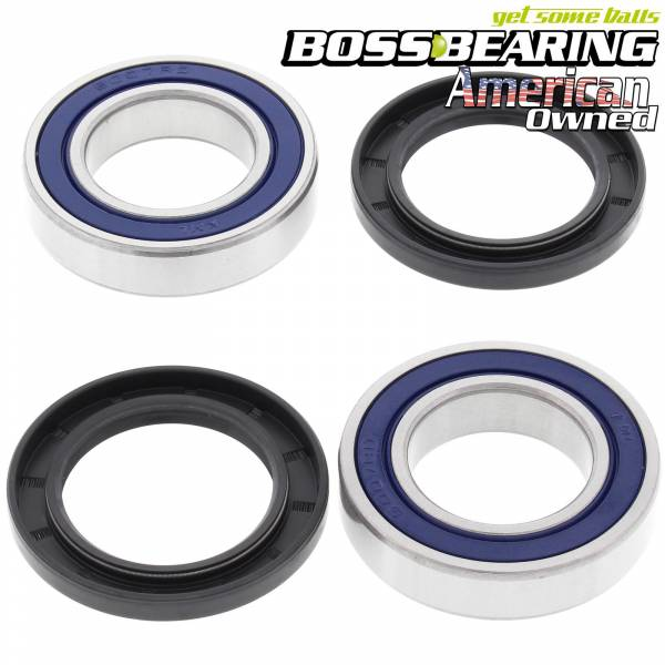 Boss Bearing - Boss Bearing Rear Axle Bearings and Seals Kit for Yamaha