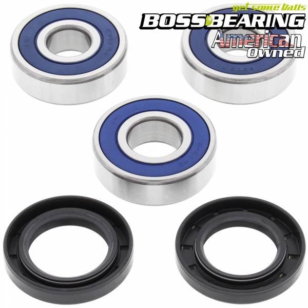 Boss Bearing - Boss Bearing 41-6278B-8G1-A-5 Rear Wheel Bearings and Seals Kit for Honda