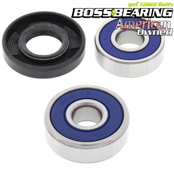 Boss Bearing - Rear Wheel Bearings and Seal Kit for Suzuki RM80, 1982-1985