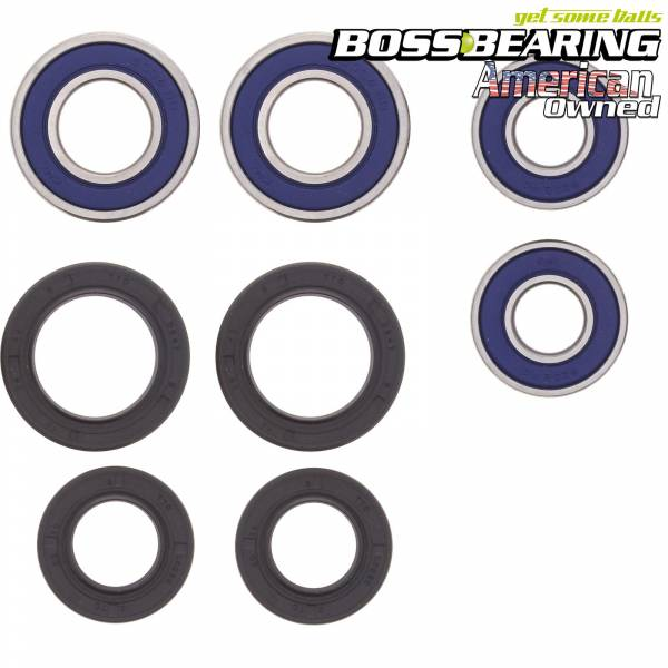 Boss Bearing - Boss Bearing Both Front Wheel Bearings and Seals Kit