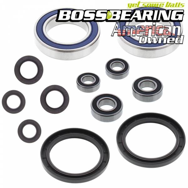 Boss Bearing - Front Wheel and Rear Axle Bearings and Seals Kit LT500R LT-500R Quadzilla Quad Racer 1987-1991