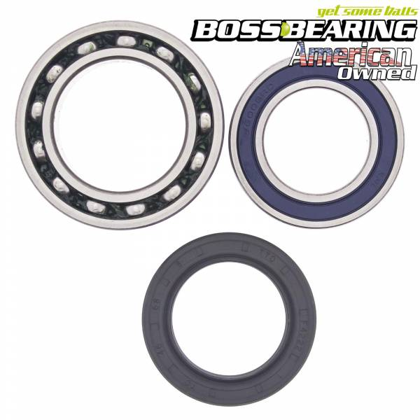 Boss Bearing - Boss Bearing Rear Axle Bearings and Seal Kit for Yamaha