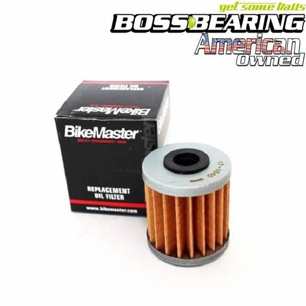 BikeMaster - Boss Bearing BikeMaster Oil Filter for Kawasaki