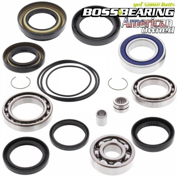 Boss Bearing - Rear Wheel Bearing Seal Combo Kit for Honda Fourtrax - Boss Bearing
