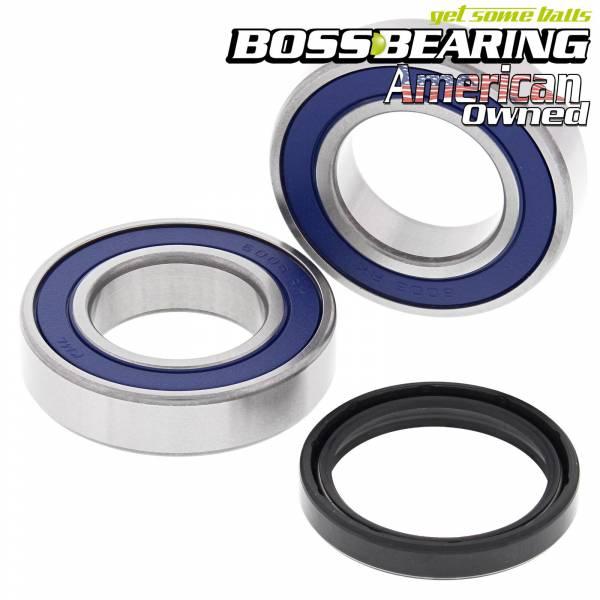 Boss Bearing - Boss Bearing Rear Axle Wheel Bearings and Seals Kit for Arctic Cat and Kawasaki