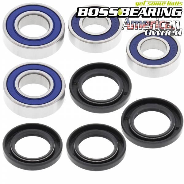 Boss Bearing - Boss Bearing Both Front Wheel Bearings and Seals Kit for Can-Am