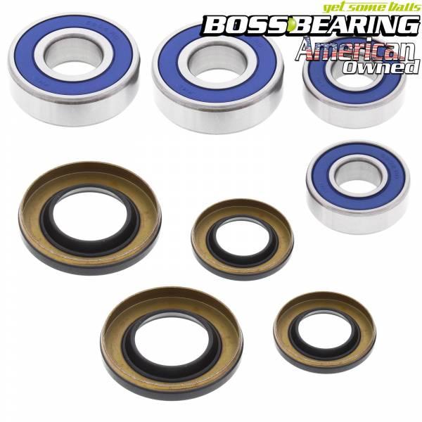 Boss Bearing - Boss Bearing P-ATV-FR-1002-4D5-4 Front Wheel Bearings and Seals Kit