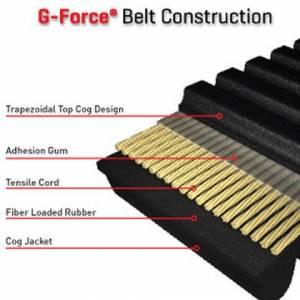 Gates - Boss Bearing Gates G Force CVT Kevlar High Performance Drive Belt 23G3935 for Kawasaki Prairie 400C - Image 2