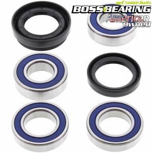 Boss Bearing - Boss Bearing Rear Axle Wheel Bearings and Seals Kit for Honda - Image 1