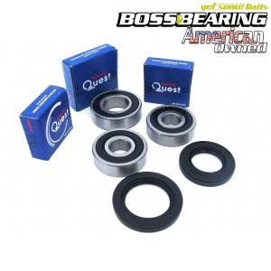 Boss Bearing - Boss Bearing Japanese Rear Wheel Bearings Seals Kit - Image 1