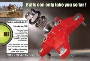 Boss Bearing - Boss Bearing Upgrade Tapered Front Wheel Bearings Seals Kit for Honda - Image 2