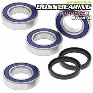Boss Bearing - Boss Bearing Rear Axle Wheel Bearings and Seals Combo Kit for Arctic Cat and Kawasaki - Image 1