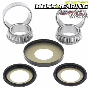 Boss Bearing - Boss Bearing Steering  Stem Bearings and Seals Kit for Suzuki - Image 1
