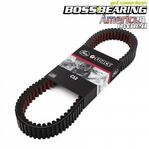 Gates - Boss Bearing Gates G Force C12 Drive Belt 23C4057 Replaces for Polaris OEM 3211143 - Image 1