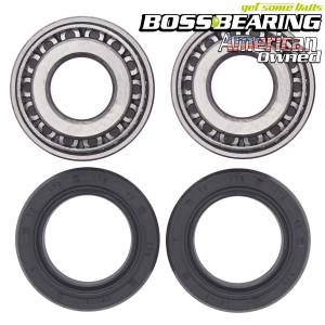 Boss Bearing - Rear Wheel Bearings Seals Kit for Harley-Davidson - Image 1