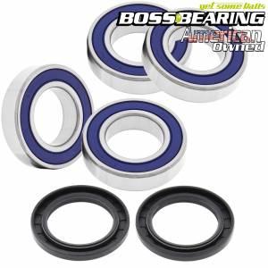 Boss Bearing - Upgraded Both Rear Wheel Bearing and Seal Kit for Suzuki - Image 1