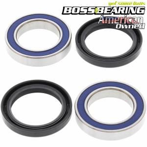 Boss Bearing - Boss Bearing Rear Axle Bearings Seals Kit Lonestar Double Dual Twin Row for Honda - Image 1