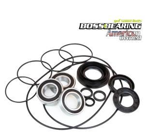 Boss Bearing - Complete Left Rear Axle Brake Panel Bearing Seal Kit for Honda - Image 1